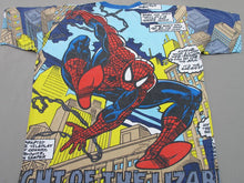 Load image into Gallery viewer, SPIDERMAN ALLOVER 90'S T-SHIRT