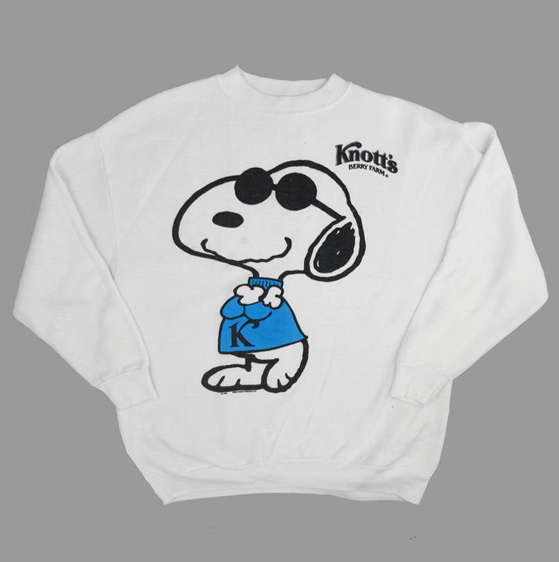 SNOOPY KNOTT'S 90'S SWEATER
