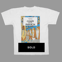 Load image into Gallery viewer, TINTIN 'CIGARS..PHARAOH' 90'S T-SHIRT
