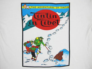 TINTIN IN TIBET 90'S T-SHIRT