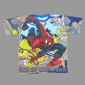 SPIDERMAN ALLOVER 90'S T-SHIRT