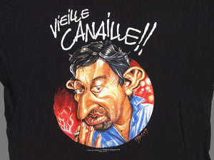 GAINSBOURG CARICATURE 96 T-SHIRT