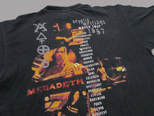 Load image into Gallery viewer, MEGADETH WORLD TOUR 97 T-SHIRT