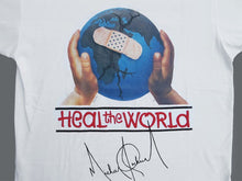 Load image into Gallery viewer, MICHAEL JACKSON HEAL THE WORLD 93 TEE