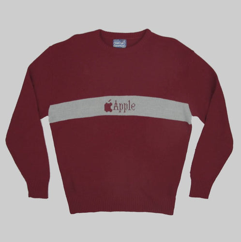 APPLE COMPUTER 90'S SWEATER