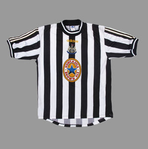 NEWCASTLE UNITED 97/99 JERSEY