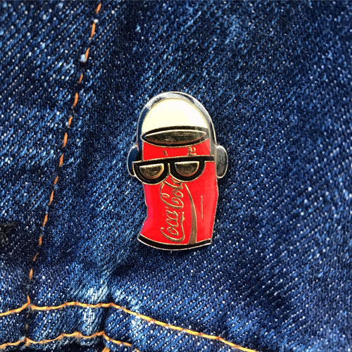 COCA-COLA DANCING CAN WALKMAN 90'S PIN