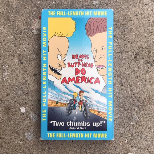 BEAVIS AND BUTTHEAD DO AMERICA 97 VHS TAPE