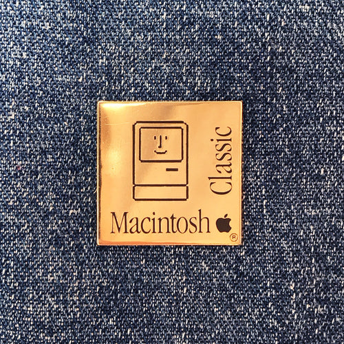 APPLE MACINTOSH 80'S PIN
