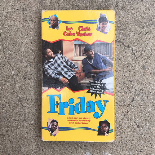 FRIDAY 95 VHS TAPE