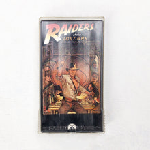 Load image into Gallery viewer, INDIANA JONES RAIDERS OF THE LOST ARK 80'S VHS TAPE