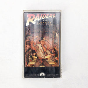 INDIANA JONES RAIDERS OF THE LOST ARK 80'S VHS TAPE