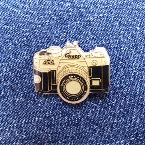 CANON ANALOG CAMERA 80'S PIN