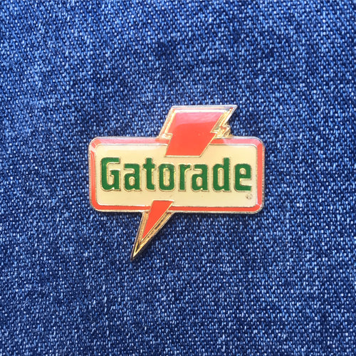 GATORADE LOGO 90'S PIN