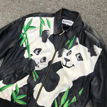 Load image into Gallery viewer, ICEBERG 'PANDAS' 91 LEATHER JACKET