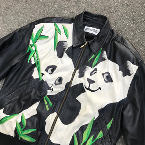 ICEBERG 'PANDAS' 91 LEATHER JACKET