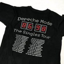 Load image into Gallery viewer, DEPECHE MODE THE SINGLES TOUR 98 T-SHIRT