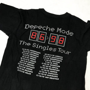 DEPECHE MODE THE SINGLES TOUR 98 T-SHIRT