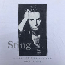 Load image into Gallery viewer, STING NOTHING LIKE THE SUN 87 T-SHIRT