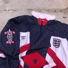 Load image into Gallery viewer, ENGLAND TEAM UMBRO 92 TRAINING JACKET
