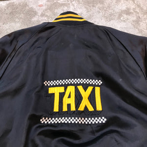 TAXI SHOW 80'S CAST AND CREW SATIN JACKET