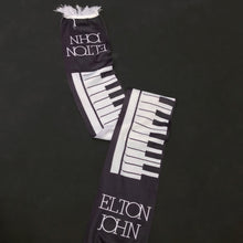 Load image into Gallery viewer, ELTON JOHN 80'S CONCERT PIANO SCARF