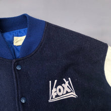 Load image into Gallery viewer, FOX TELEVISION 90'S LETTERMAN JACKET