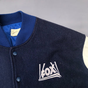 FOX TELEVISION 90'S LETTERMAN JACKET