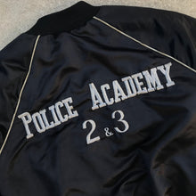 Load image into Gallery viewer, POLICE ACADEMY MOVIES 86 CAST & CREW JACKET