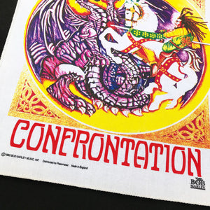 BOB MARLEY CONFRONTATION 93 BACK PATCH