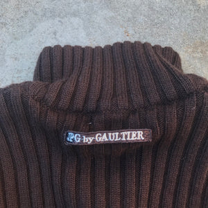 GAULTIER 90'S RIB KNIT SWEATER