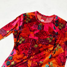 Load image into Gallery viewer, KENZO 90'S ALLOVER L/S TOP
