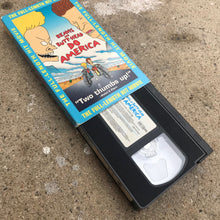 Load image into Gallery viewer, BEAVIS AND BUTTHEAD DO AMERICA 97 VHS TAPE