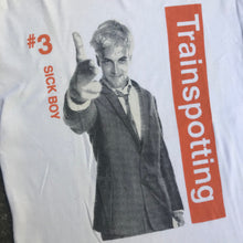 Load image into Gallery viewer, TRAINSPOTTING SICK BOY 96 T-SHIRT