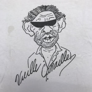 GAINSBOURG 'VIEILLE CANAILLE' 90'S T-SHIRT