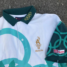 Load image into Gallery viewer, ATLANTA 96 OLYMPICS HANES OFFICIAL POLO