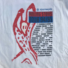 Load image into Gallery viewer, ROLLING STONES VOODOO LOUNGE 94/95 TOUR T-SHIRT