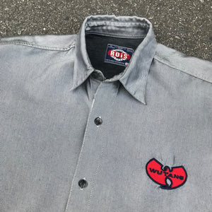 WU TANG WU WEAR 90'S BUTTON UP SHIRT