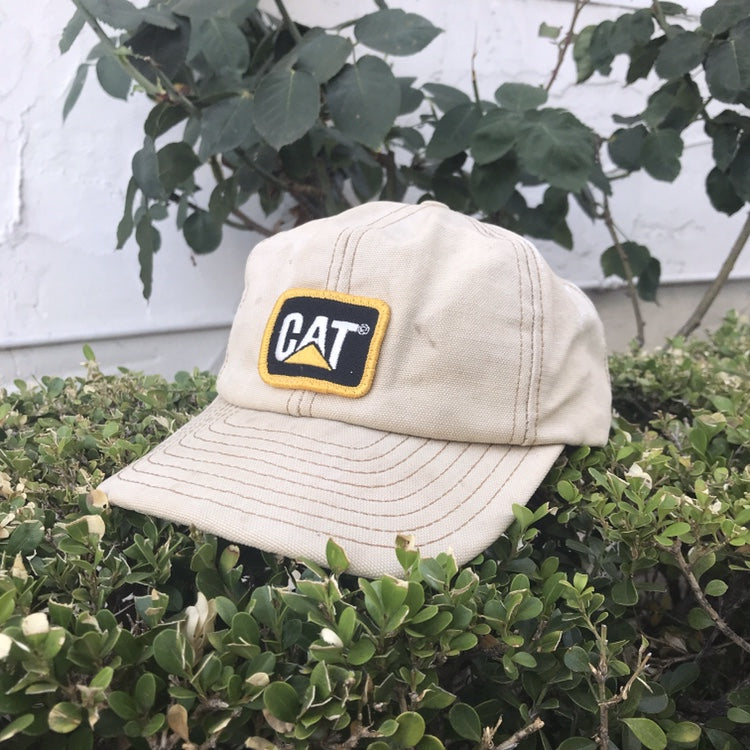 CATERPILLAR 'CAT' 90'S SNAPBACK CAP