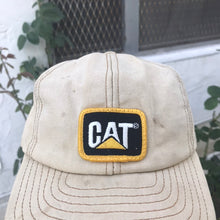 Load image into Gallery viewer, CATERPILLAR 'CAT' 90'S SNAPBACK CAP