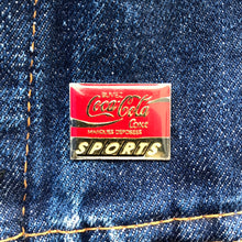 Load image into Gallery viewer, COCA-COLA SPORTS 90'S PIN
