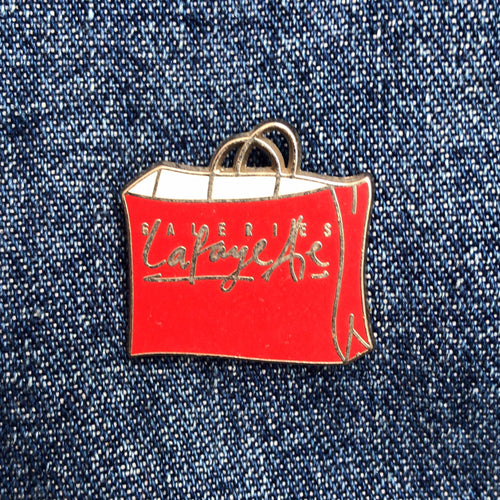 GALERIES LAFAYETTE 80'S PIN