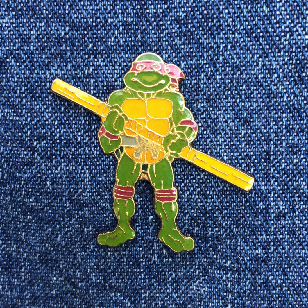 TMNT DONATELLO 80'S PIN