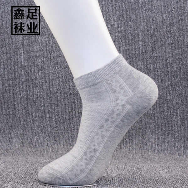 Men's spring/summer 100% cotton mesh socks(Ten pairs )
