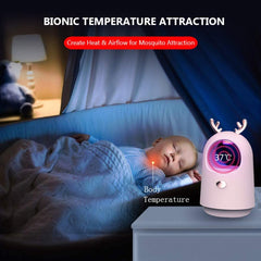 Mosquito killer lamp, quiet and comfortable, no chemical substances are produced. Physical UV lamp to kill mosquitoes