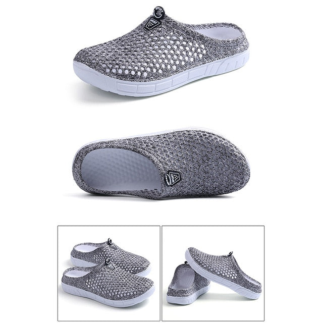 2020 Womens Casual Clogs Breathable Beach Sandals Valentine Slippers Summer Slip On Women Flip Flops Shoes Home Shoes For Unisex