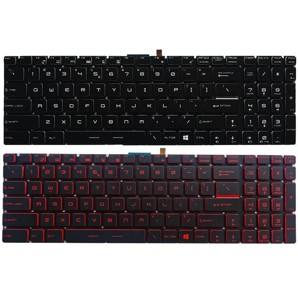 NEW US laptop keyboard For MSI GP62 GP72 GL62 LG72 GL72 GP62VR GP62MVR GP72MVR GL62M GL62MVR GL63 GL72M GL73 US keyboard