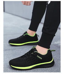 Summer Breathable Man's Casual Shoes Mesh Breathable Man Casual Shoes Fashion Moccasins Lightweight Men Sneakers Hot Sale 35-48