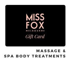 MISS FOX Gift Cards: Massage & Body Treatments