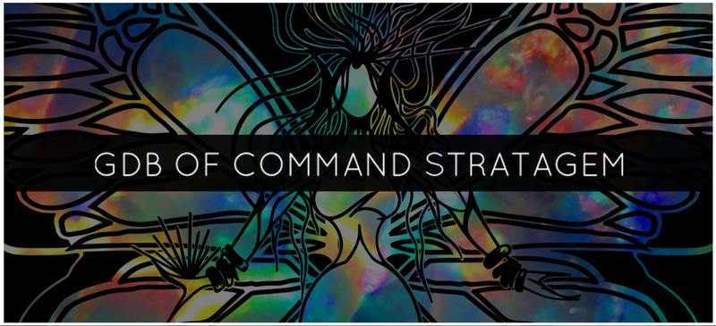 GDB OF COMMAND STRATAGEM